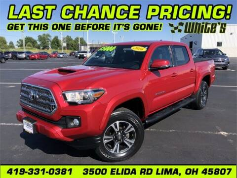 2016 Toyota Tacoma for sale at White's Honda Toyota of Lima in Lima OH