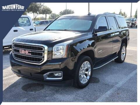 2016 GMC Yukon for sale at BARTOW FORD CO. in Bartow FL