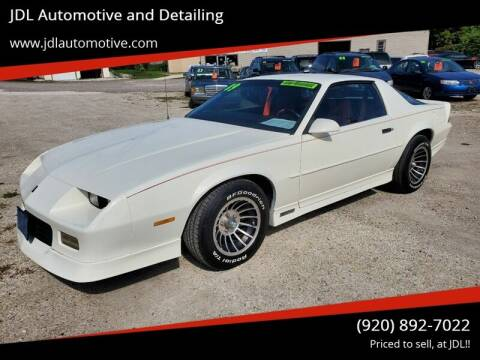 1989 Chevrolet Camaro for sale at JDL Automotive and Detailing in Plymouth WI