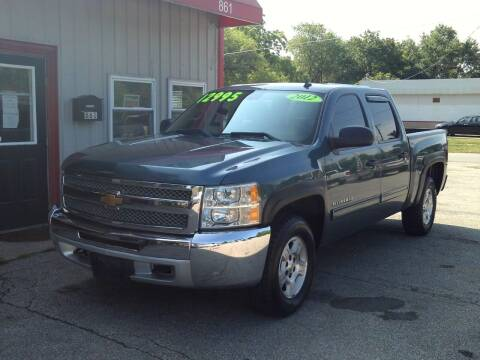 2012 Chevrolet Silverado 1500 for sale at Midwest Auto & Truck 2 LLC in Mansfield OH