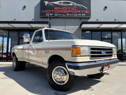 1990 Ford F-350 for sale at Exotic Motorsports of Oklahoma in Edmond OK