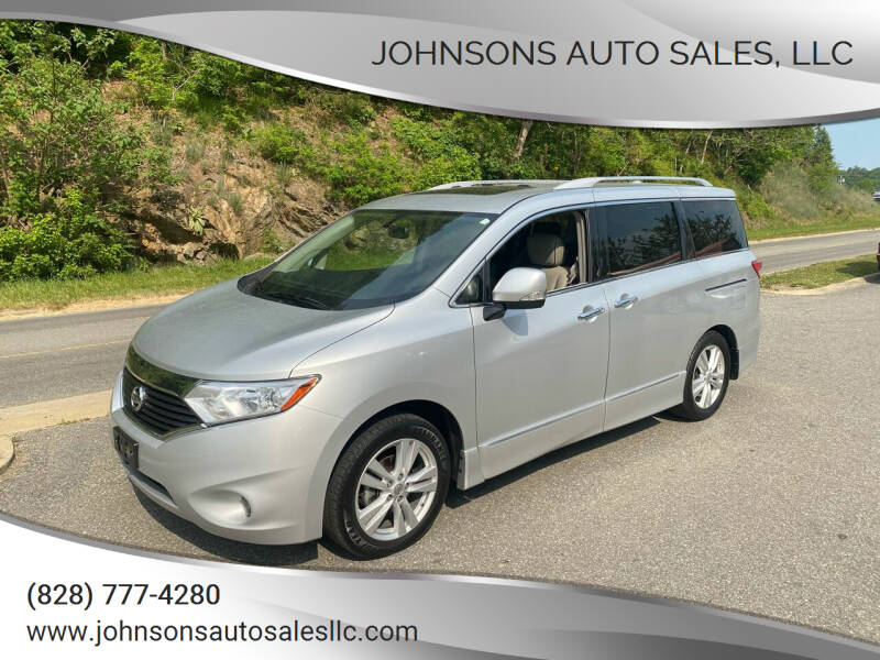 2015 Nissan Quest for sale at Johnsons Auto Sales, LLC in Marshall NC