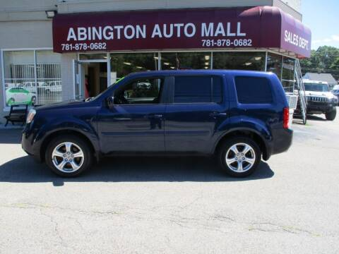 2013 Honda Pilot for sale at Abington Auto Mall LLC in Abington MA