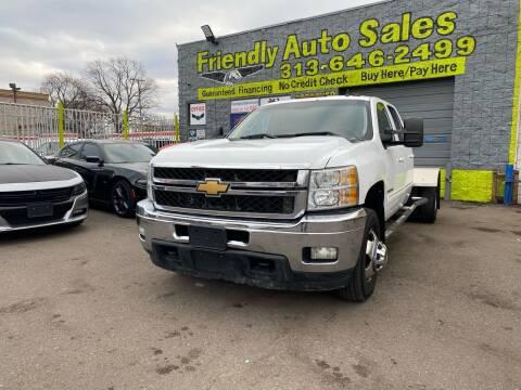 2012 Chevrolet Silverado 3500HD for sale at Friendly Auto Sales in Detroit MI