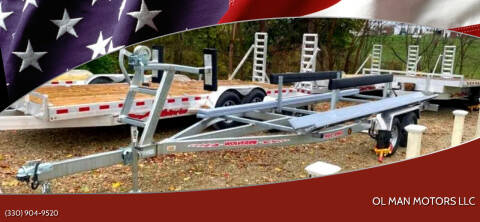 2020 Wolverine 20' Pontoon Trailer for sale at Ol Man Motors LLC in Louisville OH
