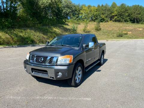 2012 Nissan Titan for sale at Unique Auto Sales in Knoxville TN