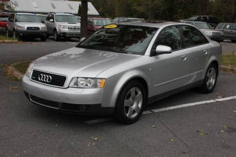 2002 Audi A4 for sale at Auto Bahn Motors in Winchester VA