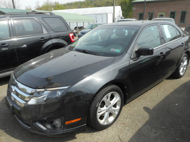 2012 Ford Fusion for sale at Sleepy Hollow Motors in New Eagle PA