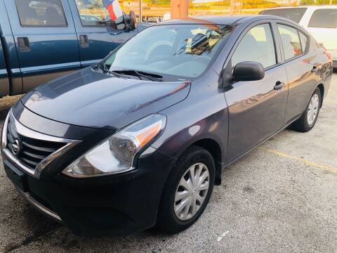 2015 Nissan Versa for sale at Lion Auto Finance in Houston TX