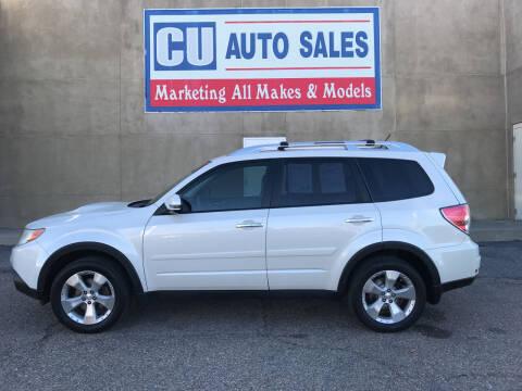 2013 Subaru Forester for sale at C U Auto Sales in Albuquerque NM