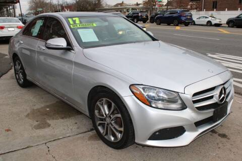 2016 Mercedes-Benz C-Class for sale at LIBERTY AUTOLAND INC in Jamaica NY