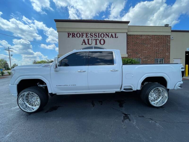 2020 GMC Sierra 2500HD for sale at Professional Auto Sales & Service in Fort Wayne IN