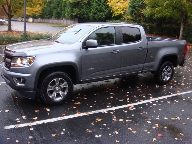 2018 Chevrolet Colorado for sale at Western Auto Brokers in Lynnwood WA