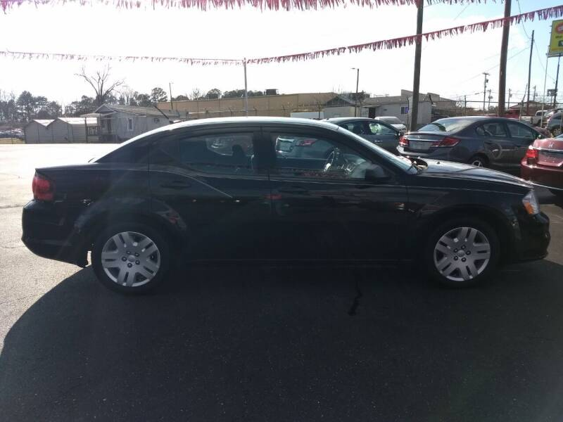 2014 Dodge Avenger for sale at Kenny's Auto Sales Inc. in Lowell NC