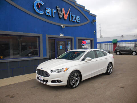 2016 Ford Fusion for sale at Carwize in Detroit MI