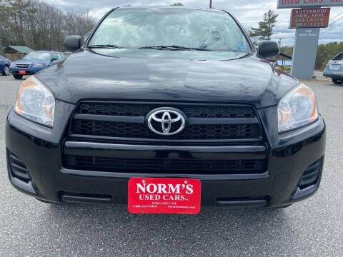 2012 Toyota RAV4 for sale at NORM'S USED CARS INC - Trucks By Norm's in Wiscasset ME