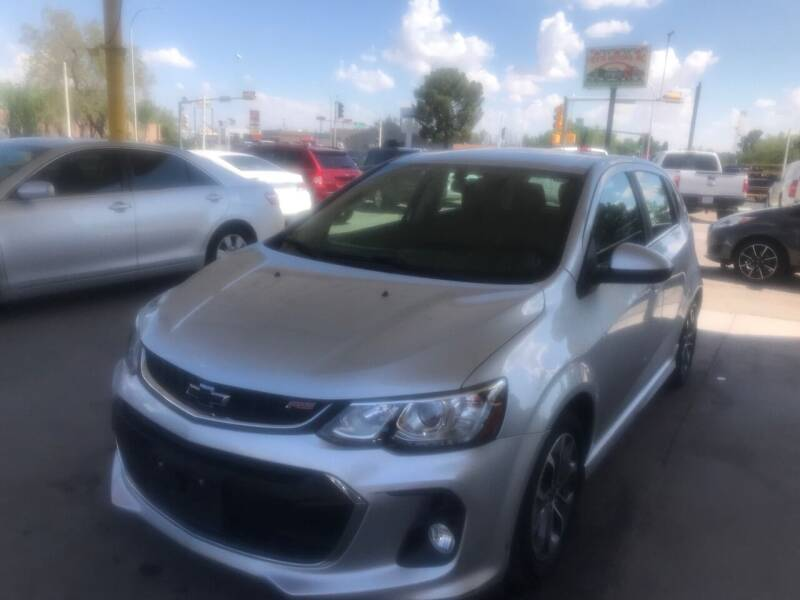 2018 Chevrolet Sonic for sale at Fiesta Motors Inc in Las Cruces NM