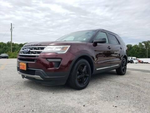 2018 Ford Explorer for sale at Hardy Auto Resales in Dallas GA