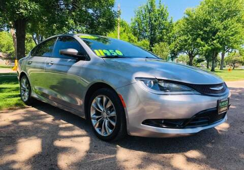 2015 Chrysler 200 for sale at Island Auto Express in Grand Island NE