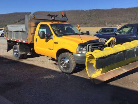 2002 Ford F-550 Super Duty for sale at Troys Auto Sales in Dornsife PA