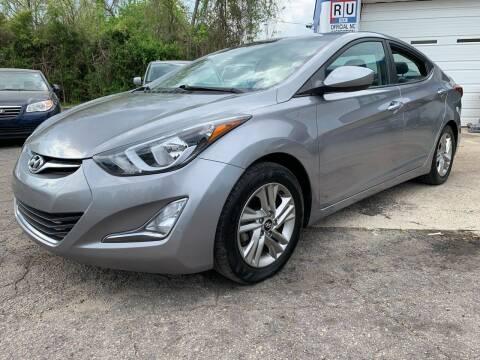 2016 Hyundai Elantra for sale at Capital Motors in Raleigh NC