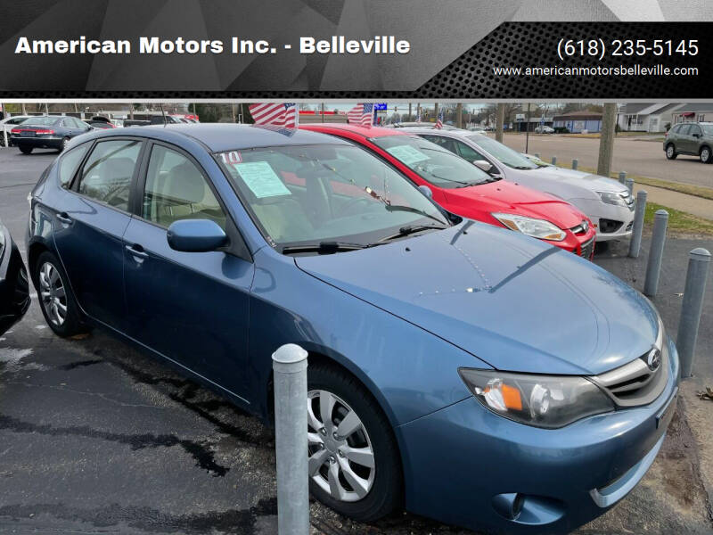 2010 Subaru Impreza for sale at American Motors Inc. - Belleville in Belleville IL
