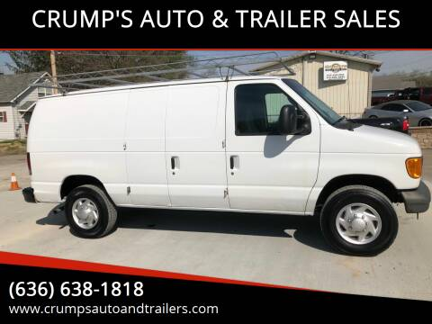 2007 Ford E-Series Cargo for sale at CRUMP'S AUTO & TRAILER SALES in Crystal City MO