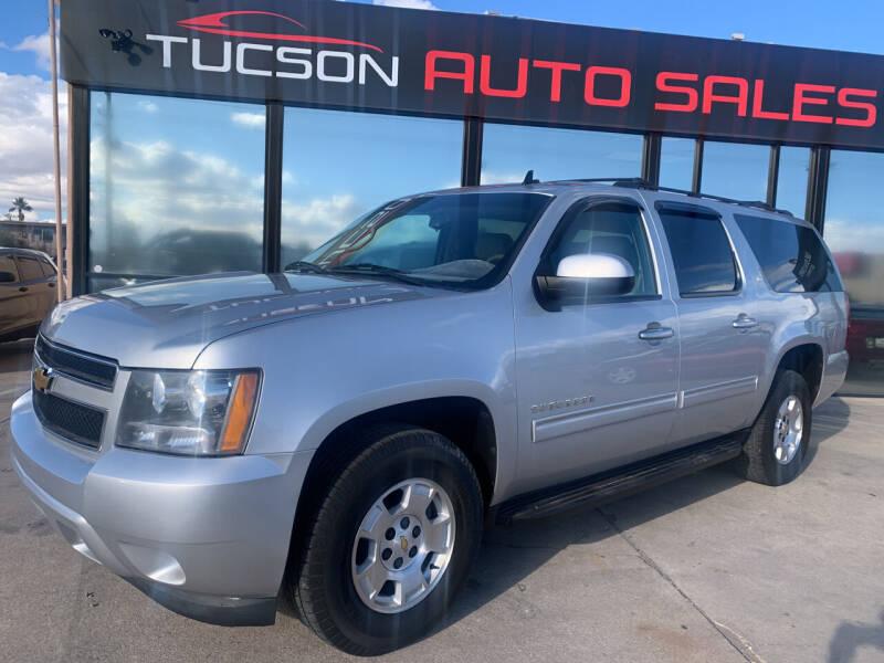 2010 Chevrolet Suburban for sale at Tucson Auto Sales in Tucson AZ