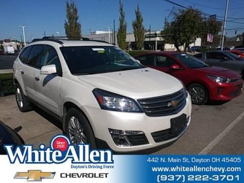 2014 Chevrolet Traverse for sale at WHITE-ALLEN CHEVROLET in Dayton OH