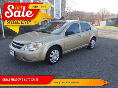 2005 Chevrolet Cobalt for sale at GREAT MEADOWS AUTO SALES in Great Meadows NJ