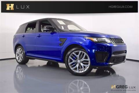 2016 Land Rover Range Rover Sport for sale at HGREG LUX EXCLUSIVE MOTORCARS in Pompano Beach FL