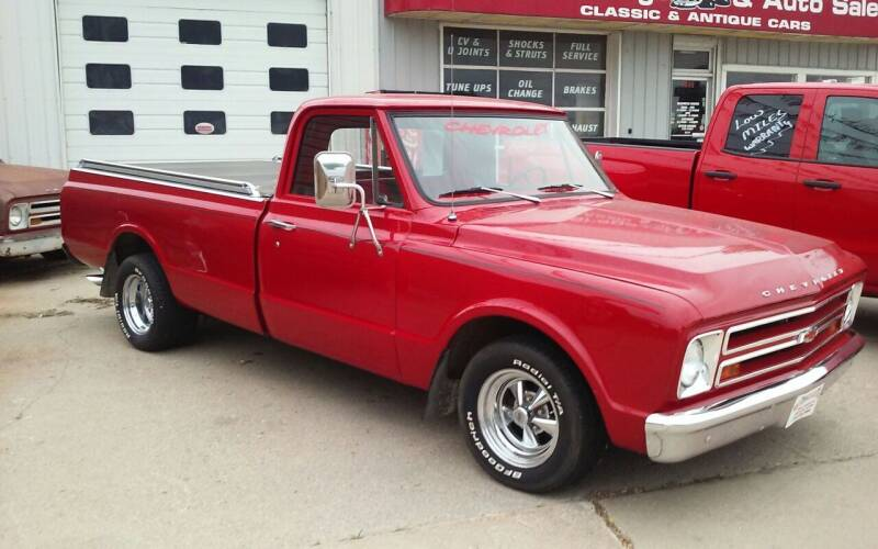 1967 Chevrolet C/K 10 Series for sale at Bob's Garage Auto Sales and Towing in Storm Lake IA