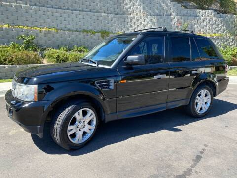 2006 Land Rover Range Rover Sport for sale at CALIFORNIA AUTO GROUP in San Diego CA