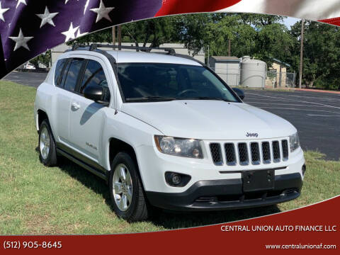 2014 Jeep Compass for sale at Central Union Auto Finance LLC in Austin TX
