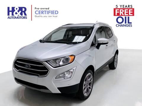 2019 Ford EcoSport for sale at H&R Auto Motors in San Antonio TX