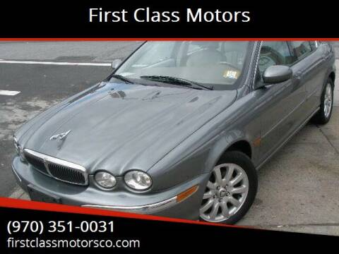 2003 Jaguar X-Type for sale at First Class Motors in Greeley CO