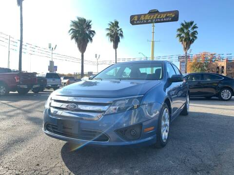 2010 Ford Fusion for sale at A MOTORS SALES AND FINANCE in San Antonio TX