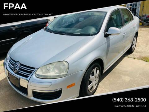 2006 Volkswagen Jetta for sale at FPAA in Fredericksburg VA