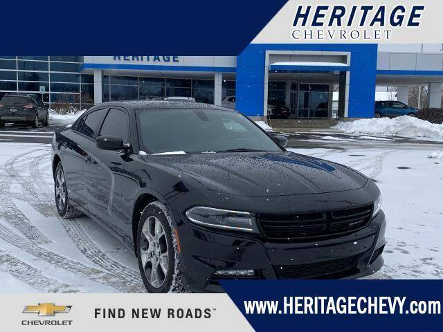 2015 Dodge Charger for sale at HERITAGE CHEVROLET INC in Creek MI