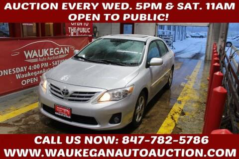 2013 Toyota Corolla for sale at Waukegan Auto Auction in Waukegan IL