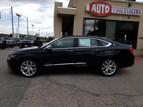 2017 Chevrolet Impala for sale at Auto Wholesalers Of Hooksett in Hooksett NH