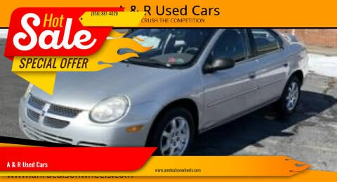 2005 Dodge Neon for sale at A & R Used Cars in Clayton NJ