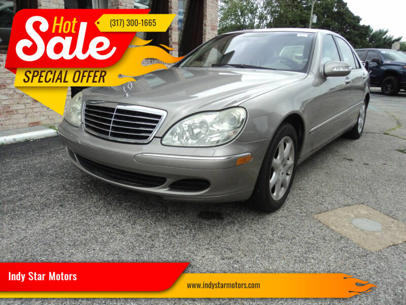 2004 Mercedes-Benz S-Class for sale at Indy Star Motors in Indianapolis IN