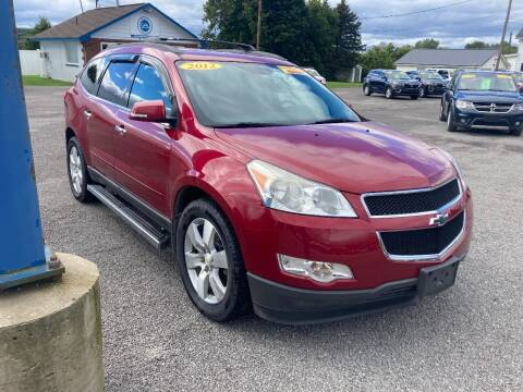 2012 Chevrolet Traverse for sale at Corry Pre Owned Auto Sales in Corry PA