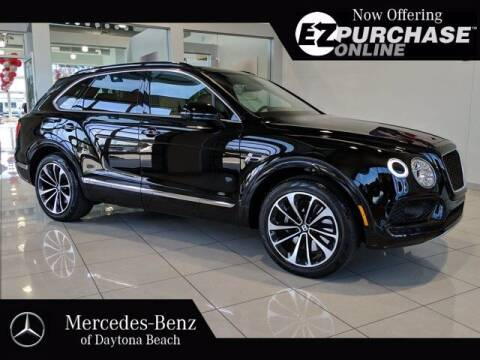 2019 Bentley Bentayga for sale at Mercedes-Benz of Daytona Beach in Daytona Beach FL