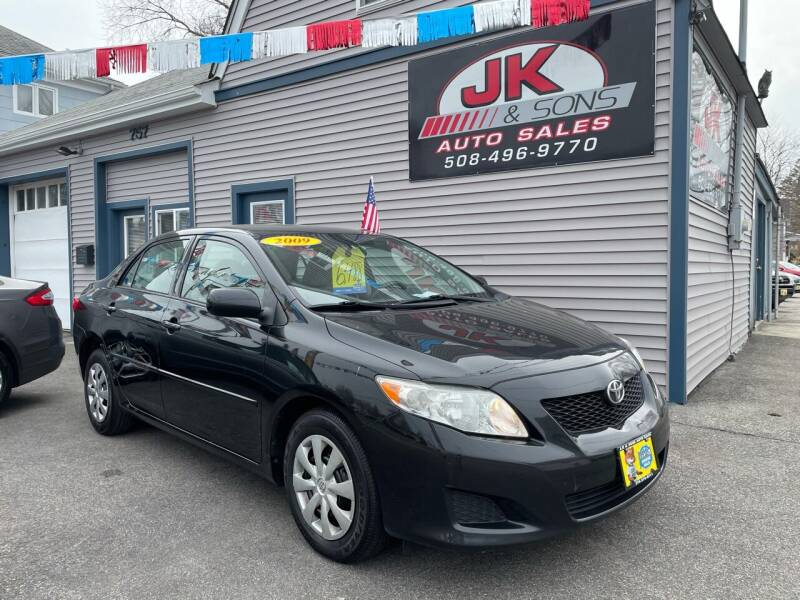 2009 Toyota Corolla for sale at JK & Sons Auto Sales in Westport MA