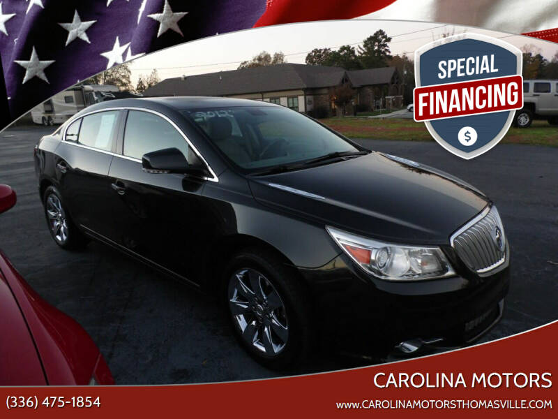 2012 Buick LaCrosse for sale at CAROLINA MOTORS in Thomasville NC