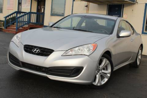 2010 Hyundai Genesis Coupe for sale at Dynamics Auto Sale in Highland IN