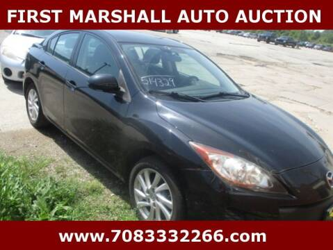 2012 Mazda MAZDA3 for sale at First Marshall Auto Auction in Harvey IL