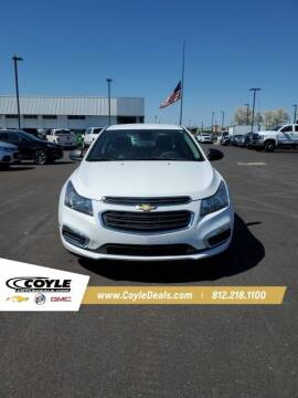 2015 Chevrolet Cruze for sale at COYLE GM - COYLE NISSAN - New Inventory in Clarksville IN